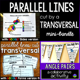Parallel Lines Cut by a Transversal mini bundle