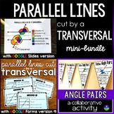 Parallel Lines Cut by a Transversal mini-bundle