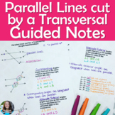 Parallel Lines cut by a Transversal (Angle Relationships)