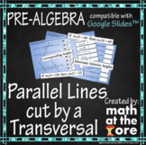 Parallel Lines cut by a Transversal - GOOGLE Slides