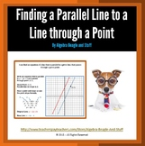 Parallel Line to a Line through a Point