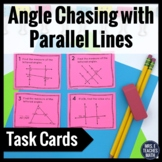 Parallel Lines Angle Chasing Task Cards