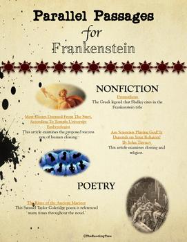 Parallel Passages: Frankenstein