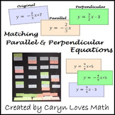 Parallel and Perpendicular Lines Interactive Bulletin Board & Classroom Activity