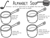 Parallel, Perpendicular, Intersecting Lines - Soup!
