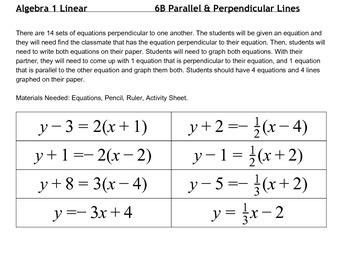 Parallel & Perpendicular Lines