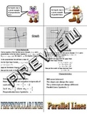 Parallel Perpendicular Lines Foldable Graphic Organizer Interactive Notebook