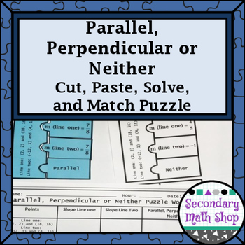 Parallel, Perpendicular, Neither (Points) Cut, Paste, Solv