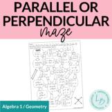 Parallel, Perpendicular, or Neither Maze