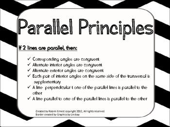 Parallel Principles