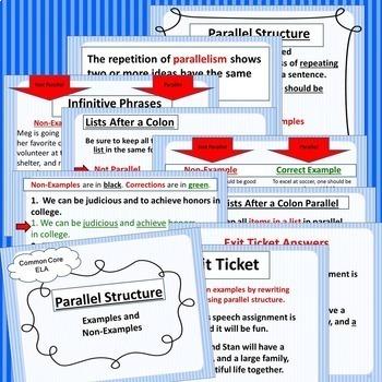 Parallel Englisch