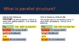 Parallel Structure 1