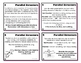 Parallel Structure Task Cards
