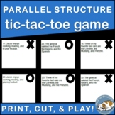 Parallel Structure TicTacToe Game