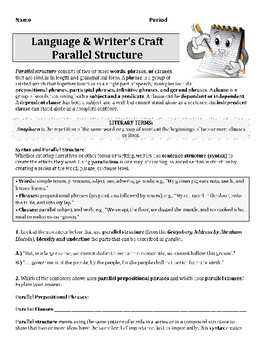 parallel structure video