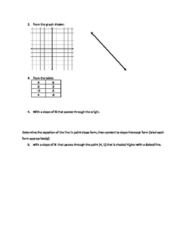 Parallel and Perpedicular Lines - Assignment