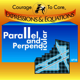 Parallel and Perpendicular (LF10): HSA.CED.A.2, HSF.BF.A.1.A
