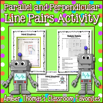 Parallel and Perpendicular Line Pairs Robots