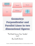 Parallel and Perpendicular Lines - 4 Grade Geometry
