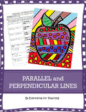 Parallel and Perpendicular Lines: Coloring Activity