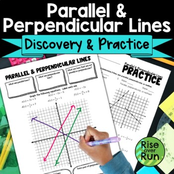 Parallel and Perpendicular Lines Guided Notes