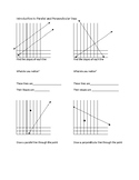 Parallel and Perpendicular Lines Introduction Using Slopes