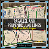 Parallel and Perpendicular Lines No Prep Note Pages