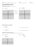 Parallel and Perpendicular Lines Notes