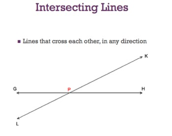 Parallel and Perpendicular Lines PowerPoint