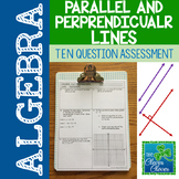 Slopes of Parallel and Perpendicular Lines Quiz