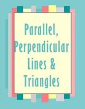 Parallel and Perpendicular Lines Review jeopardy style game