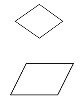Parallel and Perpendicular Lines in 2D Shapes