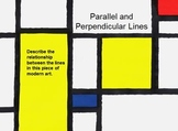 Parallel and Perpendicular Lines in Art and the Real World