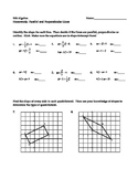 Parallel and Perpendicular Lines with Systems of Equations Homework