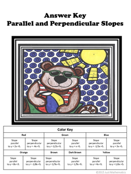 Parallel and Perpendicular Coloring Activity
