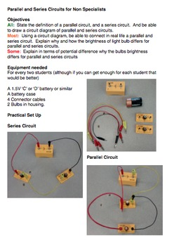 Parallel and Series Electrical Circuits - Introduction