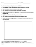 Parallel line with transversal Interactive Activity - GEOMETRY HSG-CO.C.9