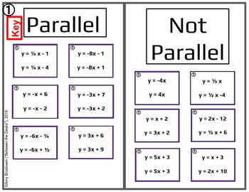 Parallel or Not Card Sort