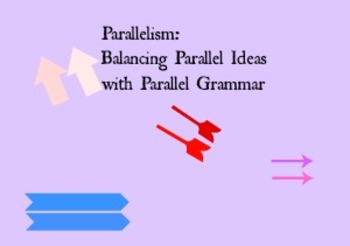 Parallelism: Balancing Parallel Ideas With Parallel Grammar
