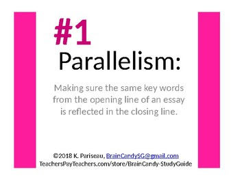Parallelism in Literature - 5 Including Plot Parallelism