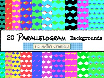 Parallelogram Backgrounds
