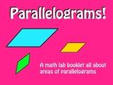 Parallelogram Booklet: Math Lab