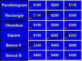Parallelogram Jeopardy