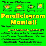 Parallelogram Mania! Finding Area and Perimeter of Parallelograms in Style