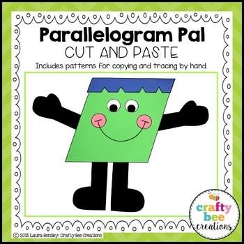 Shape Craft {Parallelogram Pal}