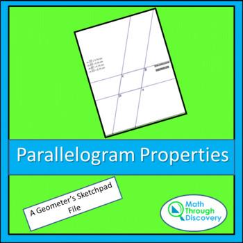 Parallelogram Properties - GSP