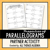 Parallelograms Partner Activity