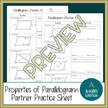 Parallelogram - Property Partner Practice