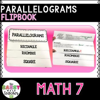 Parallelogram Quadrilateral Flipbook