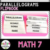 Parallelogram Quadrilateral Flipbook